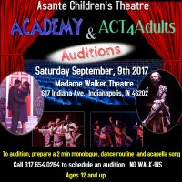 ACT Academy & ACT4Adults Auditions