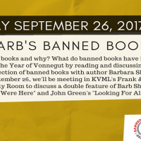 Barb's Banned Books: Banned Books Week Edition