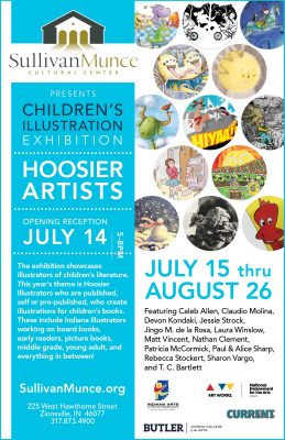 Children's Illustration Exhibition Hoosier Artists...