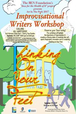 """""""THINKING ON YOUR FEET""""  Improvisational Writers Workshop"""
