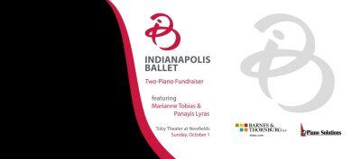 Two-Piano Fundraiser, feat. Marianne Tobias & Panayis Lyras