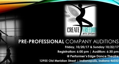 Create Freedom Arts Projects Resident Artist Auditions