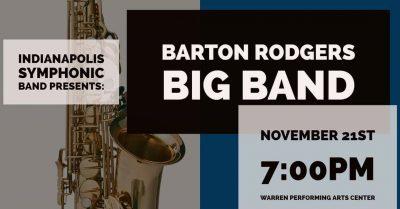 Barton Rodgers Big Band Concert