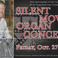 Dwight Thomas, Silent Movie accompaniment and Organ Recital