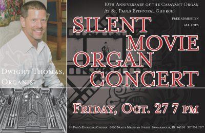 Dwight Thomas, Silent Movie accompaniment and Organ Recital