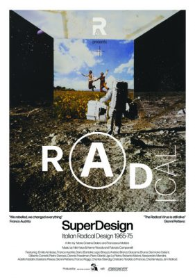 Film Screening: SUPERDESIGN: WHEN DESIGN WANTED TO CHANGE THE WORLD