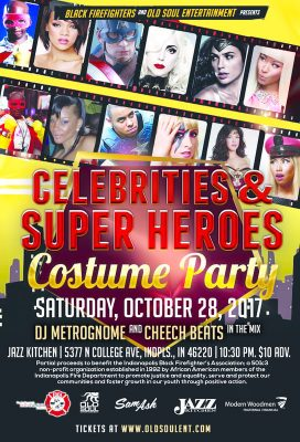 Celebrities and Super Heroes Annual Costume Party Benefit