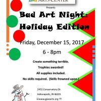 Bad Art Night: Holiday Edition