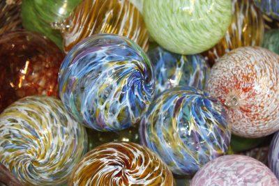 Christmas Eve Glassblowing Ornament Sampler