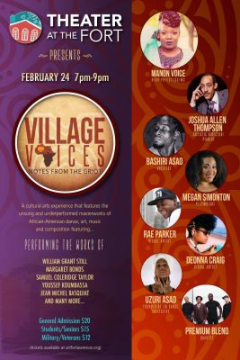 Village Voices - Notes from the Griot