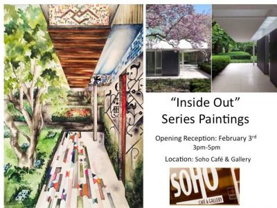 """""""Inside Out"""" Series Paintings"""