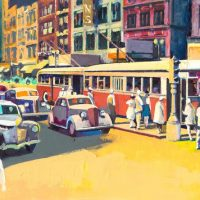 Coloring Historic Indiana II: Recent Paintings by Brock Cagann