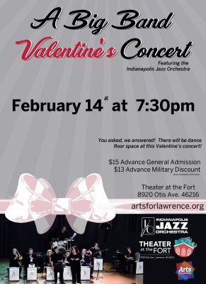 Big Band Valentine's Concert featuring Indianapolis Jazz Orchestra