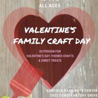 Valentine's Family Craft Day