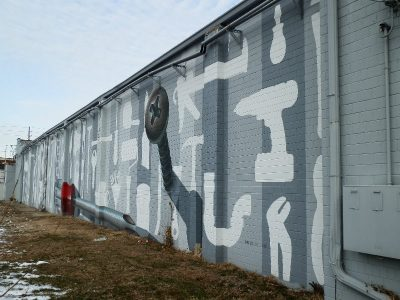 Central Ace Hardware Mural