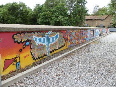 Graffiti Class of 2017 Mural