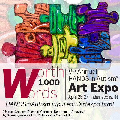 Call For Artists: 8th Annual HANDS in Autism Art Expo