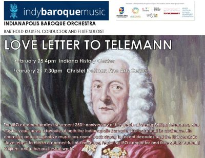 Love letter to telemann presented by indybaroque music inc