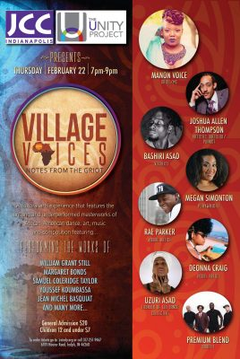 Village Voices: Notes from the Griot