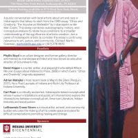 """Mari Evans' """"Ethos and Creativity"""" Three Decades Later: Art and Race in Indianapolis"""