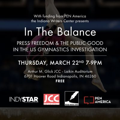 In the Balance: Press Freedom & the Public Goo...