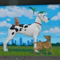 Untitled (Folk Art Animals)