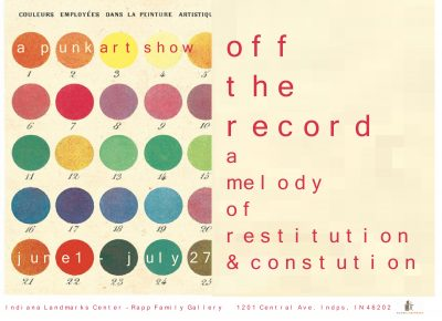 CALL FOR SUBMISSIONS/ OFF THE RECORD