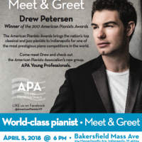World-class pianist Meet & Greet: Drew Petersen