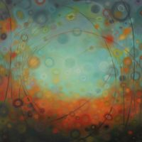 Bubbling Over artist reception
