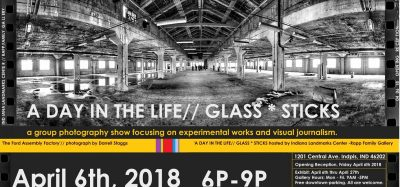 First Friday Art Show: A Day in the Life // Glass * Sticks