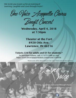 One Voice Acappella Chorus Benefit Concert