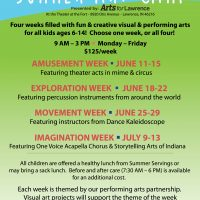 Arts for Lawrence Summer Art Camp