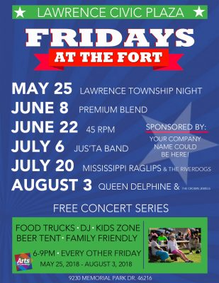 2018 Fridays at the Fort