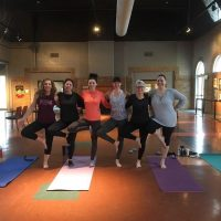 Community Yoga in The Gallery