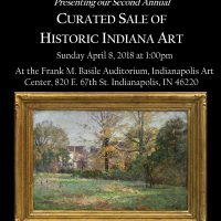 Second Annual Curated Sale of Historic Indiana Art