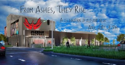 From Ashes, They Rise - Phoenix Theatre Ribbon Cut...