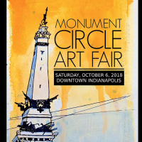 Monument Circle Art Fair 2018