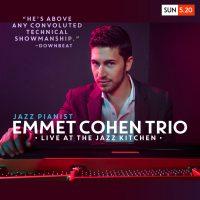 Emmet Cohen Trio at The Jazz Kitchen