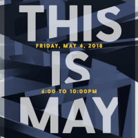 This Is May artist reception/open studio night/#porchpartyindy