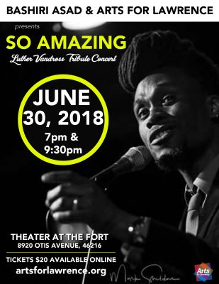 SO AMAZING: Luther Vandross Tribute Concert