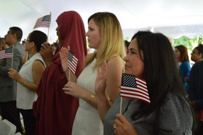 Naturalization Ceremony presented by Benjamin Harrison