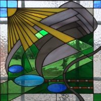 Stained Glass, Water Color, Photography