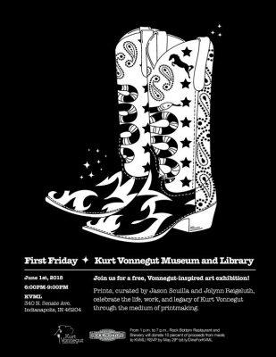 First Friday Vonnegut Gallery