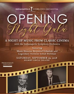Indianapolis Symphony Orchestra Opening Night Gala...