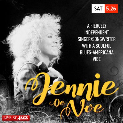 Jennie DeVoe at The Jazz Kitchen