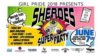Girl Pride presents: Indy Sheroes