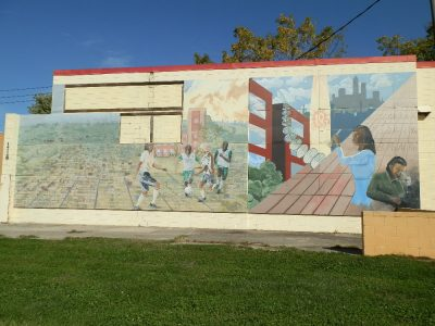 Arsenal Technical High School mural