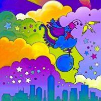 Peter Max Exhibition Coming to Indy