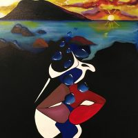 Passion, Art by Shae Lewis at Art Bank Aug 1-31