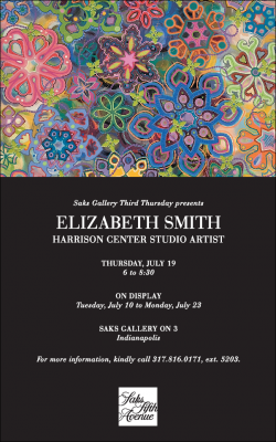 Saks Gallery Third Thursday: Elizabeth Smith